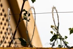 Razor Wire Everywhere