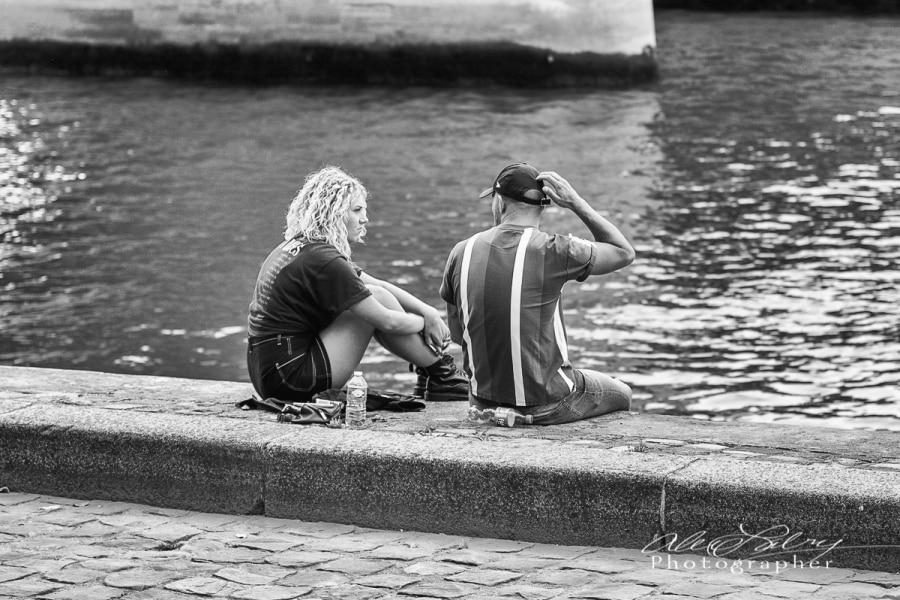 Along the Seine, Paris