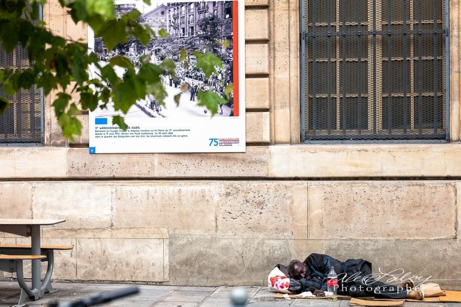 Poster Celebrating the liberation of Paris