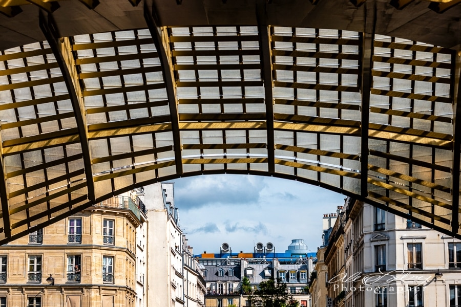 Pompidou Center from Les Halles