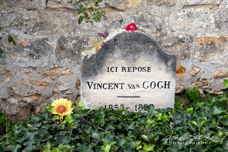 Vincent's Grave,  Auvers-sur-Oise