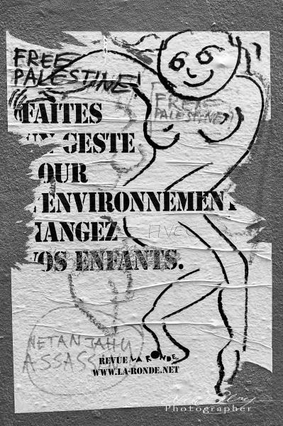 Poster, Marais District