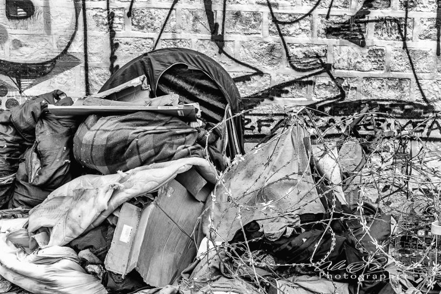Homeless Home along Canal St. Martin