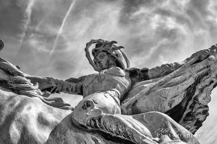 Statue of Joan of Arc,  BIr Hakim
