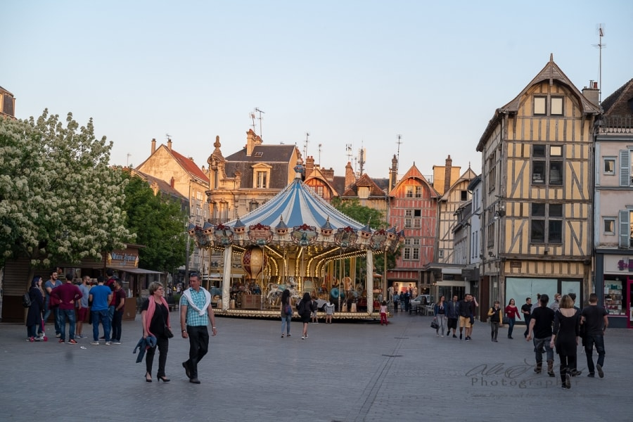 City Square, Troyes, France 2018