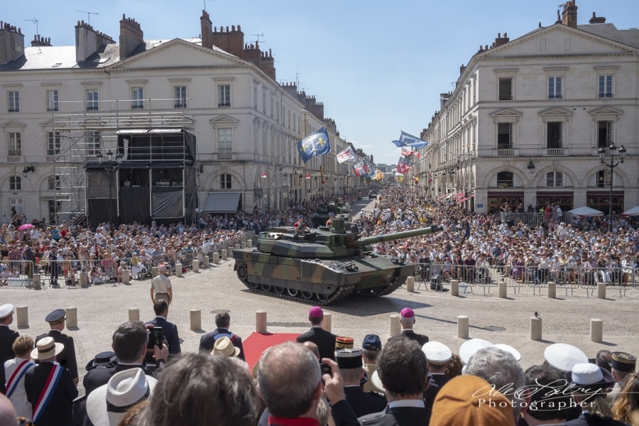 Parade Review,  Orleans, France, 2018