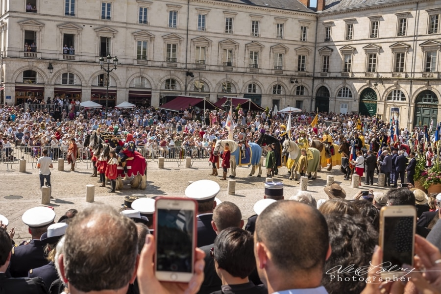 Parade Review, Orleans, France 2018
