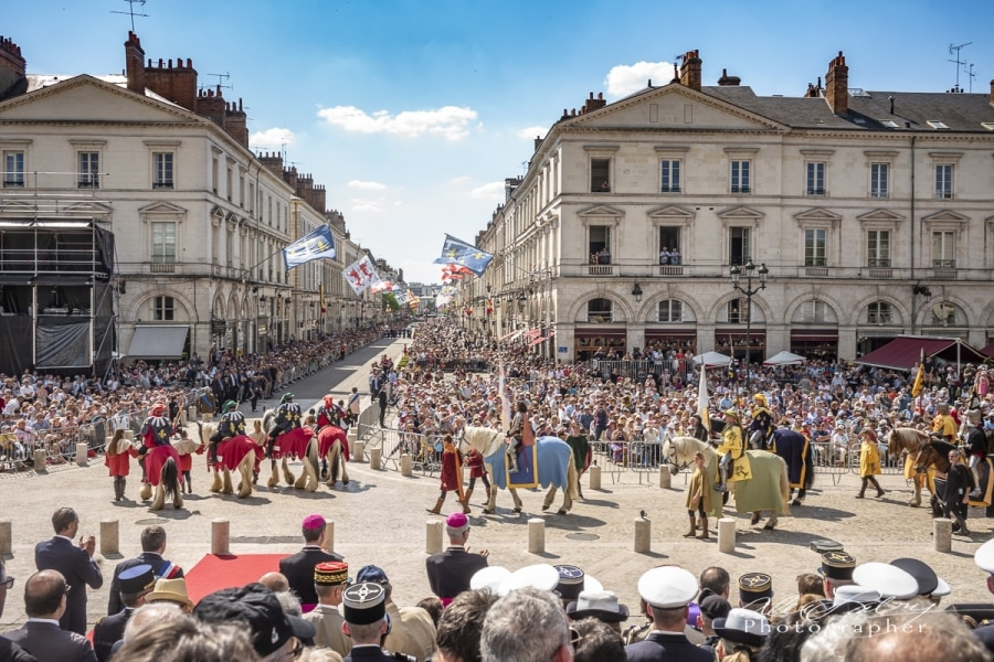 Parade Review Orleans, France, 2018