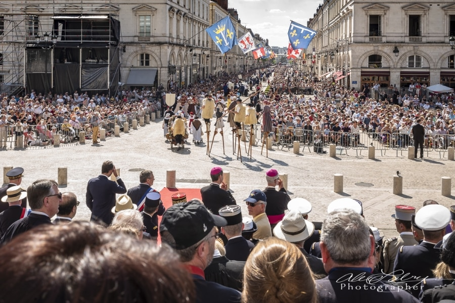 Parade Review Orleans, France 2018