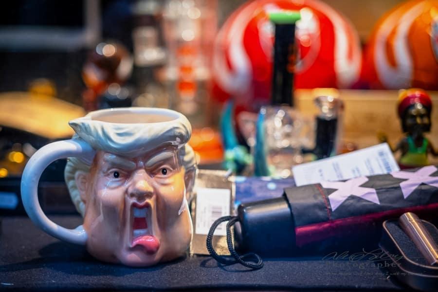 Trump Mug Shot, Amsterdam, 2018