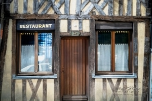 Medieval  Building, Troyes, France