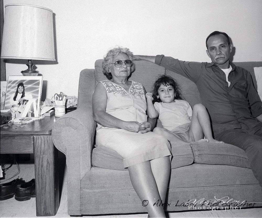 Grandparents, Avance home,  1991