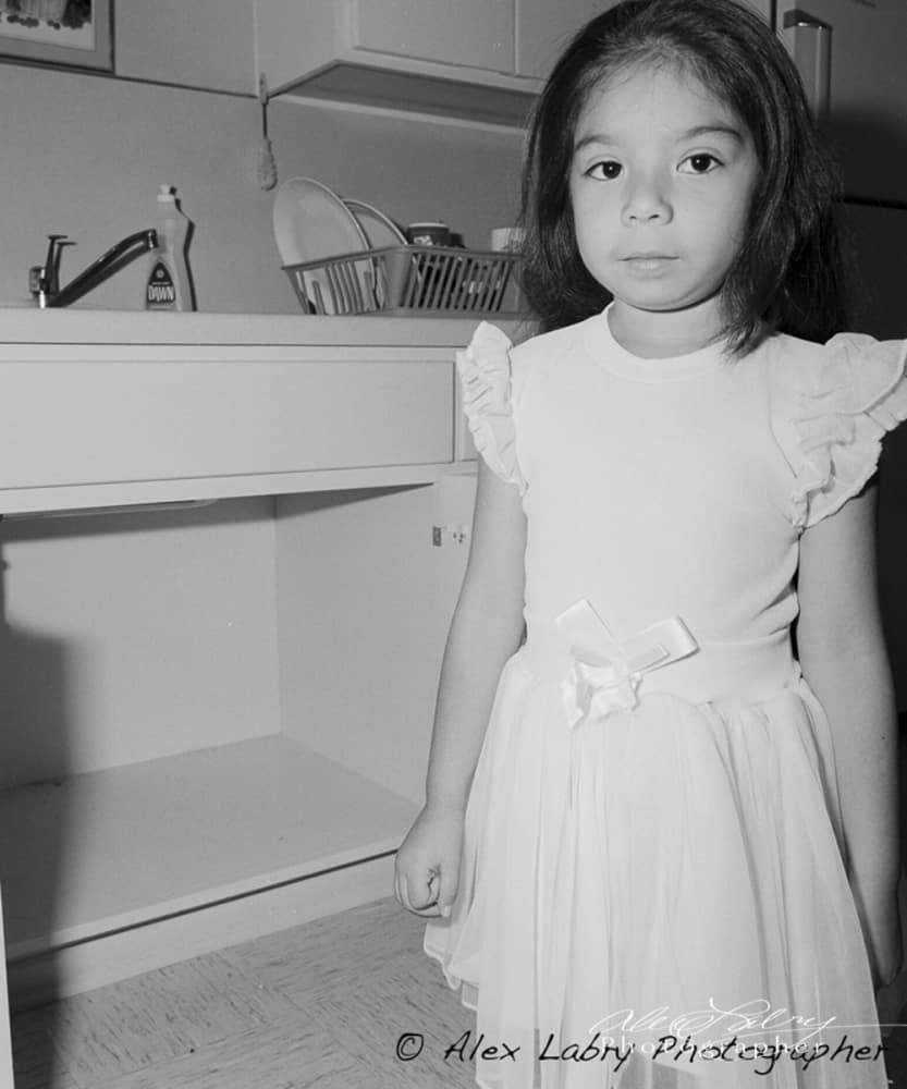 Avance Child at home, San Antonio, 1992