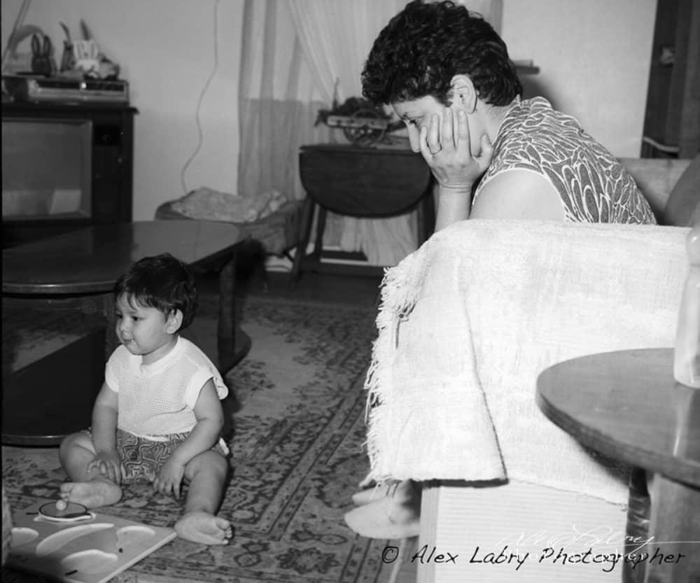 Avance mother and child, San Antonio, 1992