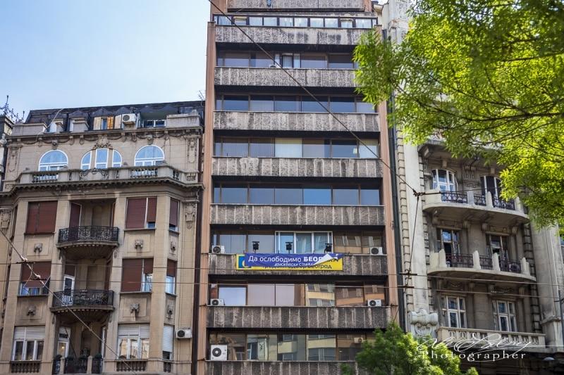 Apartment Building, Belgrade, Serbia