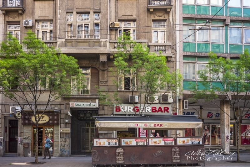 Street Scene, Belgrade, Serbia
