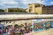 Along the Berlin Wall, 1989