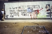 Along the Berlin Wall, 1990-10