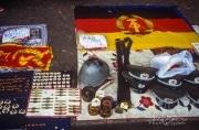 East German Army merchandise, Berlin Wall 1990