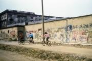 Along the Berlin Wall, 1990