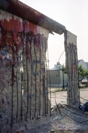 """Where """"The Wall Ends"""", Berlin, 1990"""