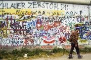 Along the Berlin Wall, 1989
