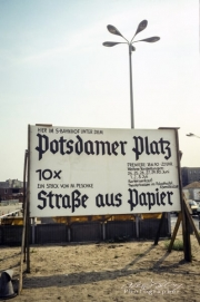 Potsdamer Platz, Berlin, 1990