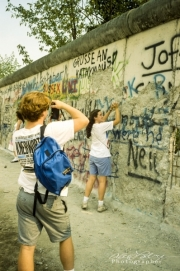 Along the Berlin Wall, 1990-2