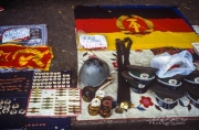 East German Army merchandise, Berlin Wall 1990