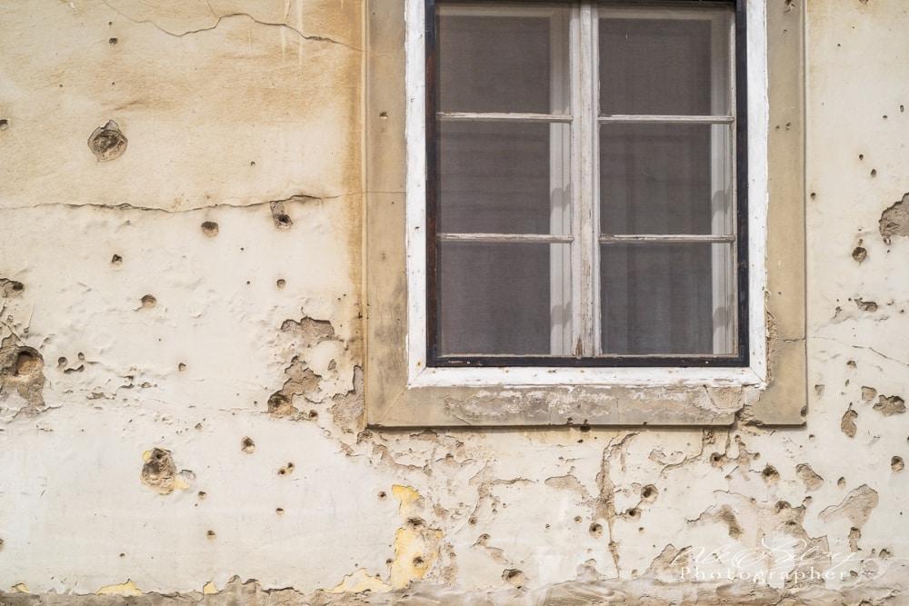 Residential Window, Vukovar, Croatia