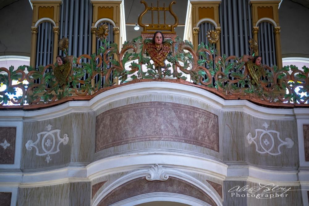 Organ, Church Interior, Vukovar, Croatia