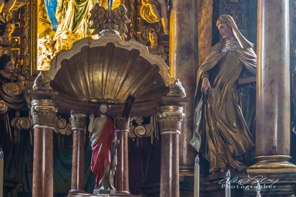 Church Interior, Vukovar, Croatia