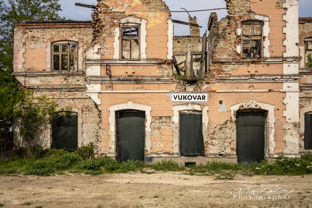 Train Station, Vukovar, Croatia