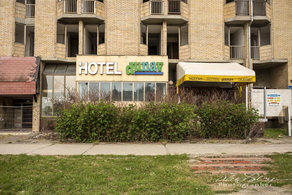 Soviet Era Luxury Hotel,  Osijek