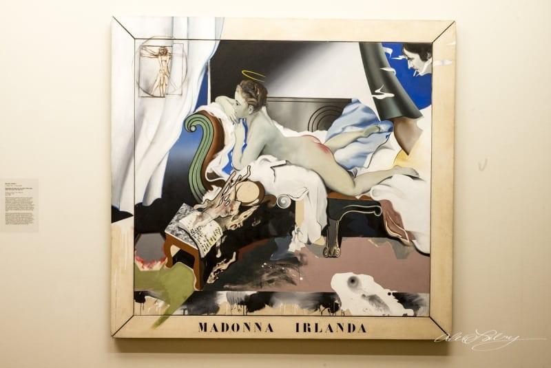 Madonna Irlanda by Michael Farrell