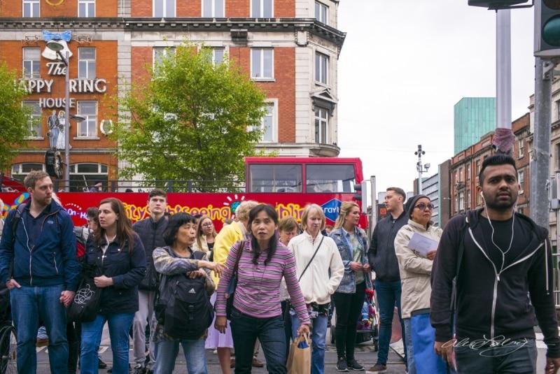 Pedestrians Dublin