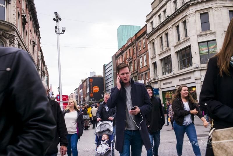 Pedestrains Dublin