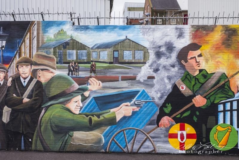 Falls Road, Belfast, Northern Ireland