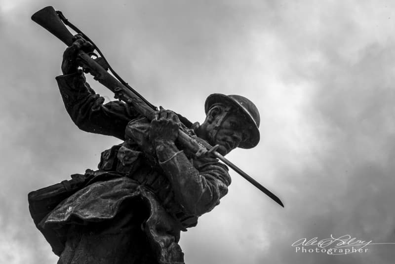 WWI Statue, Londonderry,  Northern Ireland