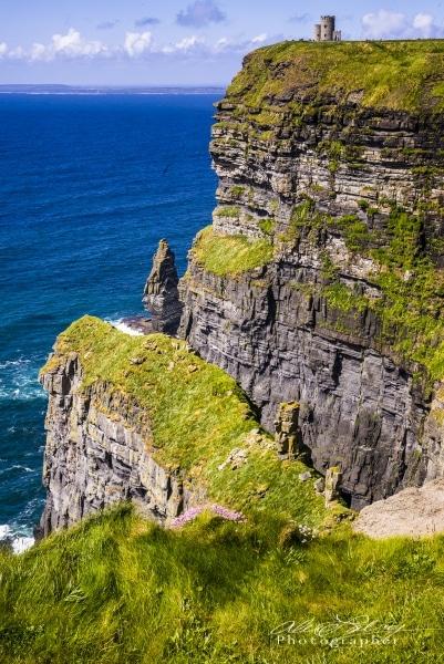 Cliffs at Downpatrick Head, Near Ballycastle, County Mayo