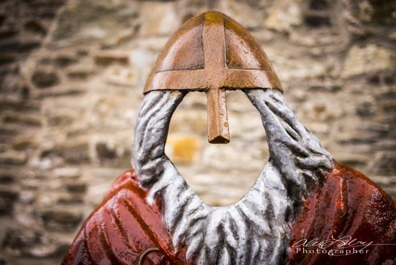 Viking Mask, Blarney, Ireland