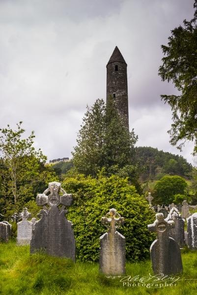 Old Cemetary, Blarney, Ireland