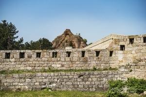 Fortress wall, Vidin Bulgaria
