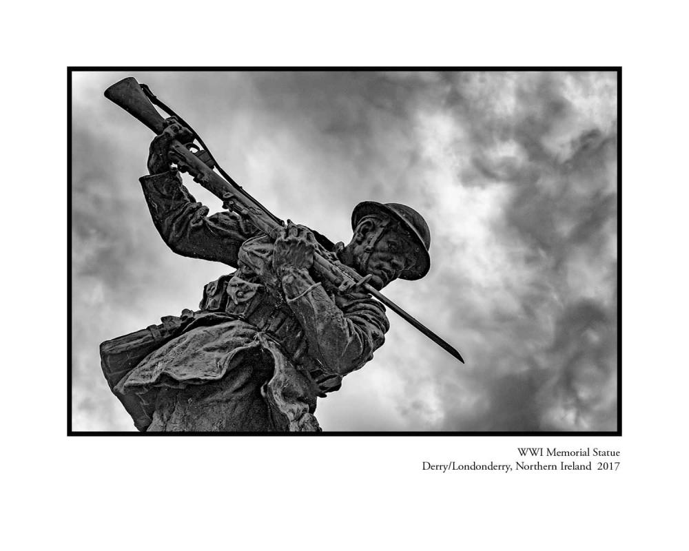 WWW I Monument, Derry, Ireland, 2017