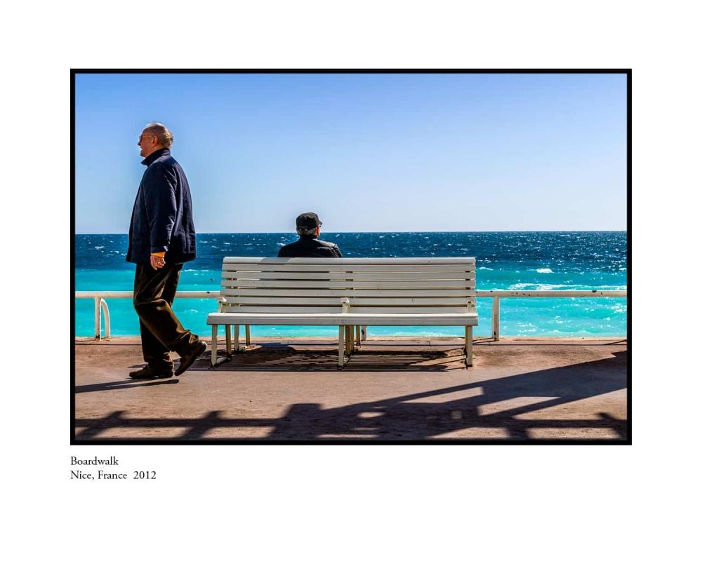Boardwalk, Nice, France 2012