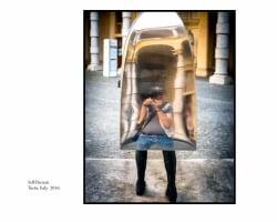 Self Portrait, Turin , Italy, 2016