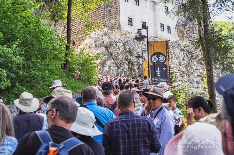 Entrance to 'Dracula's' Castle
