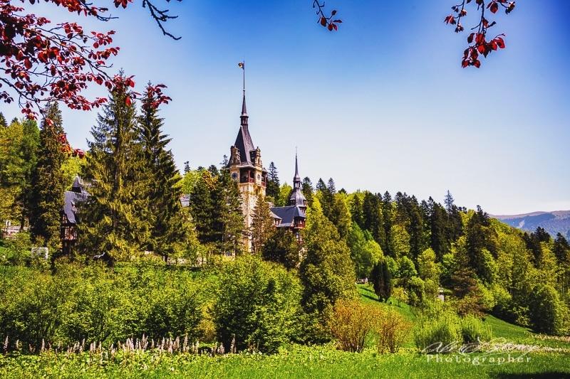 Peles Castle, in Sinaia near Brasov