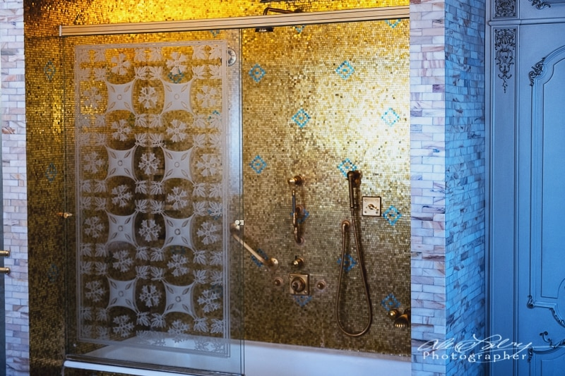 Golden Shower, Ceaușescu mansion, Bucharest
