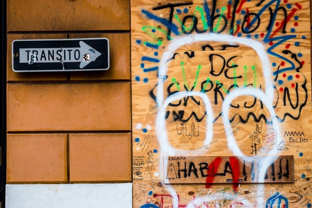 One Way Graffiti